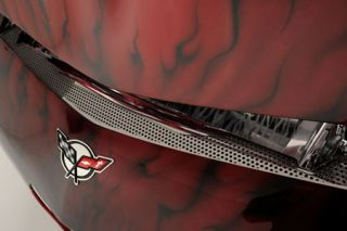 1997-2004 Corvette Perforated Stainless Front Bumper Insert