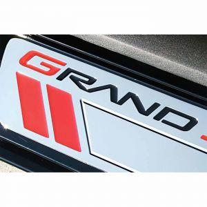 2010-2013 Corvette Billet Sill Plates w/GrandSport Emblem