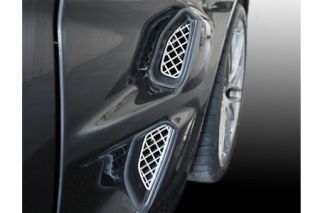 2009-2013 Corvette ZR1 Laser Mesh Side Fender Grills (4pc)