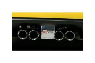 05-13 Z06 Billet Rear Exhaust Enhancement Plate