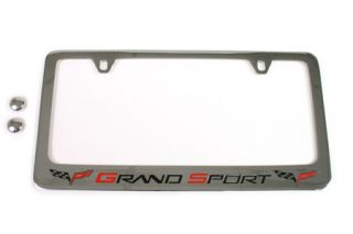 C6 Corvette Grand Sport License Frame