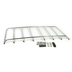 """1968-1975 Corvette 6-Hole Stainless Luggage Rack (2 1/4"""" Rear Mount)"""
