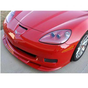 2006-2013 Corvette ZR1 Front Splitter (Pre-Painted Fiberglass)