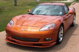 2005-2013 Corvette (Non Z06/GS) ZR1 Front Splitter (Pre-Painted Fiberglass)