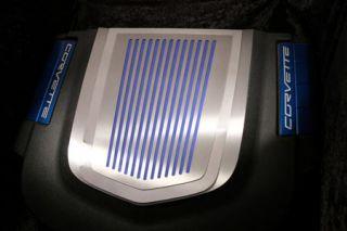 2009-2013 Corvette ZR1 Stainless Ribbed Engine Shroud Cover