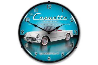 1953 Corvette Lighted Clock