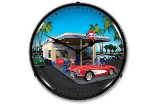 1959 Corvette Lighted Clock