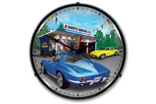 1963 Corvette Lighted Clock