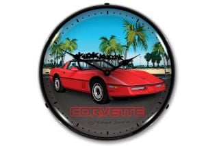 C4 Corvette Lighted Clock