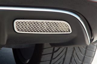 2005-2013 Corvette Laser Mesh Stainless Back-up Light Covers