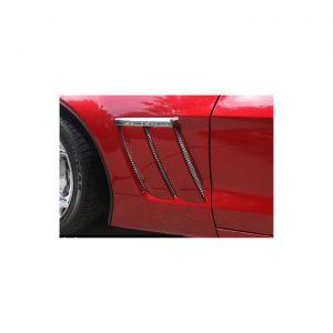 2010-2013 Corvette GS RaceMesh Front Fender Duct Grilles
