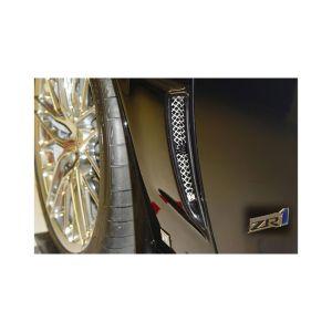 2006-2013 Corvette Z06/ZR1/GS RaceMesh Rear Fender Duct Grille