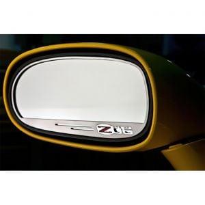 2006-2013 Corvette Z06 505hp Exterior Side Mirror Stainless