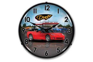 C6 Corvette Diner Lighted Clock