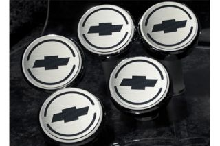 2005-2013 Corvette Executive Engine Cap Cover Set w/Chevy Bowtie (5-piece)