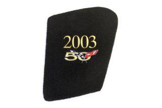 97-04 Underhood Display Insert w/50th Anniversary Emblem