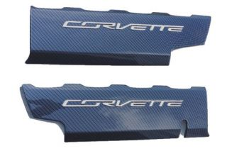 "2014-2018 Corvette Hydro Carbon ""Smoothie"" Fuel Rail Covers"