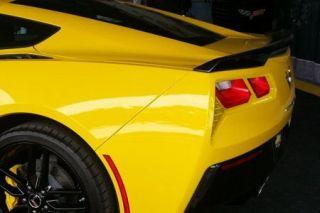 2014-2018 Corvette Painted Tail Light Bezels