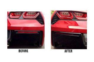 2014-2018 Corvette Acrylic Rear Valance Panel Black-Outs