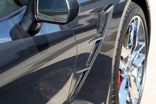 2014-2018 Corvette Matrix Series Side Fender Grille Inserts