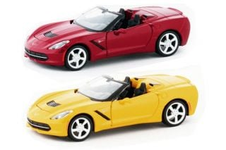 1:24th 2014 Corvette Stingray Convertible Die Cast1:24th 2014 Corvette Stingray Convertible Die Cast