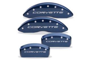 """97-04 Brake Caliper Covers w/ """"Corvette"""" Body Color"""