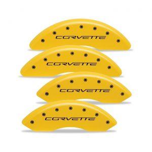 06-13 Z06/GS Brake Caliper Covers w/ Corvette Script (Body Color)