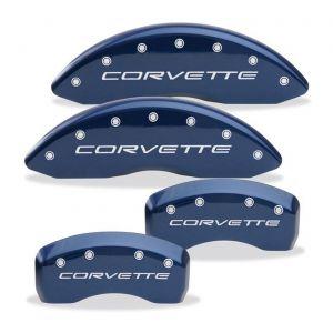05-13 Brake Caliper Covers w/ Corvette Script (Body Color)