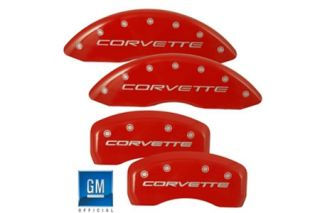 "05-13 Brake Caliper Covers w/""Corvette"""