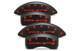 "97-04 Brake Caliper Covers w/""Corvette"" (Stealth Black)"