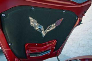 14-18 Hood Liner Stainless Emblem (Default)