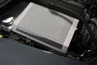 14-18 Perforated Stainless Fuse Box Cover