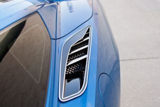 14-18 Stainless/Carbon Rear Quarter Vent Covers