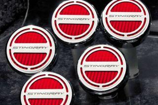 "14-19 w/Auto Engine Cap Covers w/""Stingray"" Script (5pc)"