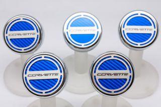 "14-19 Auto Engine Cap Covers w/ ""Corvette"" Script (5pc)"