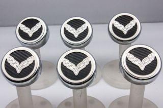 "14-18 w/Manual Engine Cap Covers w/ ""Cross Flags"" Emblem (6pc) (Accessory Color)"