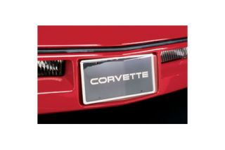 1984-1990 Corvette Front License Plate Contoured Cover