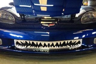 "06-13 Z06 Stainless ""Shark Tooth"" Front Grille (Default)"