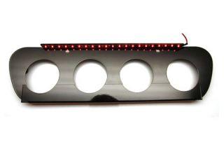 14-18 w/NPP Stainless Exhaust Filler Panel - Illuminated (Black) (Default)