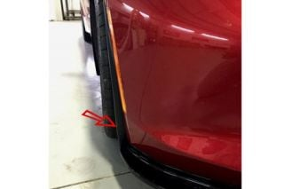 14-18 Stage II Front Splitter Deflectors (Exterior Color)