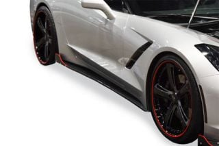 14-18 RKSport Rocker Panels (Carbon Fiber) (Default)