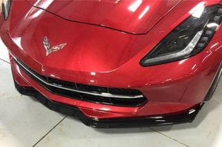14-18 Z06 Style Front Splitter w/Winglets (Exterior Color)