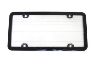 Autocross License Plate Frame w/Clear Sealed Lens