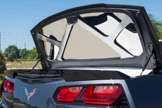 14-18 Conv Stainless Trunk Lid Trim Kit