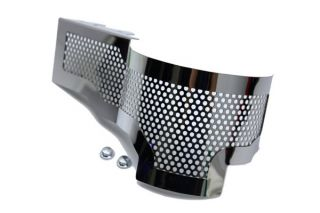 15-18 Z06 Perforated Stainless Alternator Cover