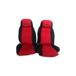 4-96 STD Seat Neoprene Seat Covers w/Emblem