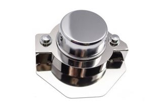 14-18 Power Steering Actuator Stainless Cover w/ Chrome Cap