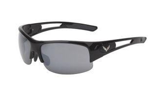 C7 Corvette Gloss Black Rimless Sunglasses (Rx Capable) (Default)