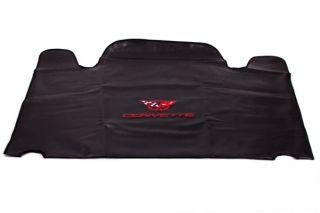 97-04 Roof Panel Storage Bag w/ C5 Emblem - Red