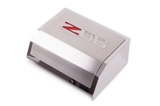 06-13 Deluxe Stainless Fuse Box Cover w/ Z06 Emblem